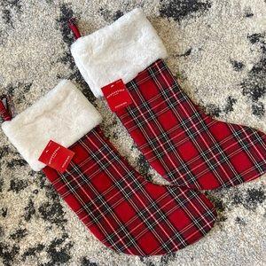 Christmas stockings - a pair